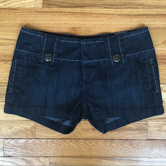 4afa819ffab Noble jean shorts from Macy s. Size 5 dark denim